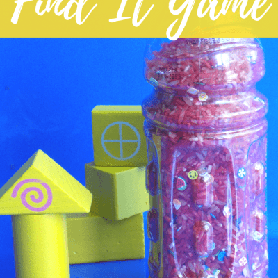 Easy DIY Find It Game | Perfect for Road Trips