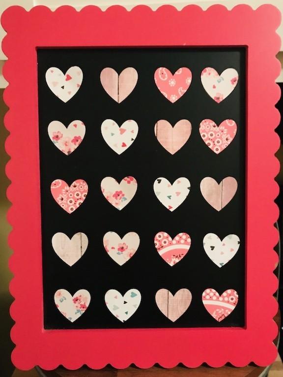 Heart specimen art