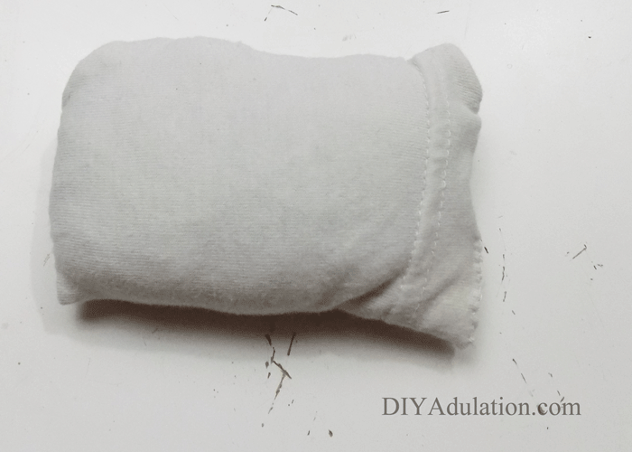 mini white pillow