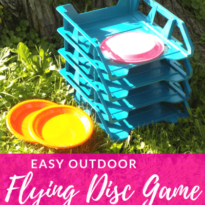 Easy Outdoor Flying Disc Game DIY