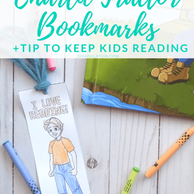 Free Printable Charlie Tractor Bookmarks +Tip to Keep Kids Reading