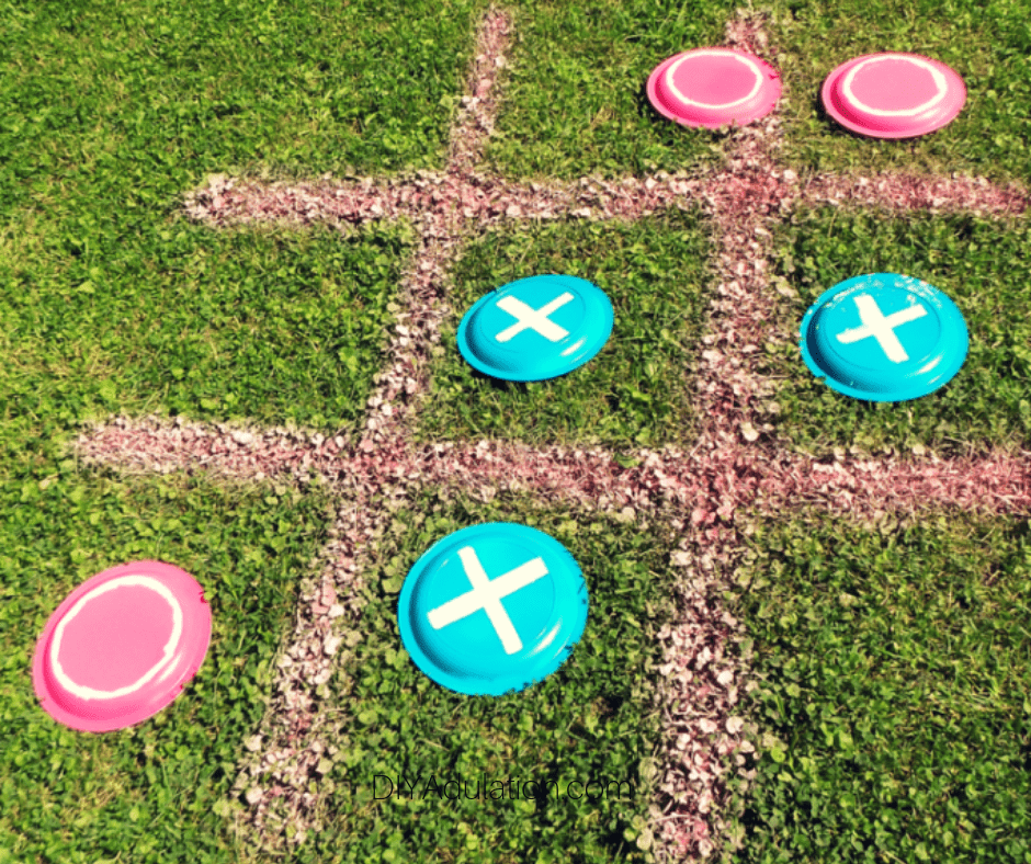 Giant Backyard Tic Tac Toe Game