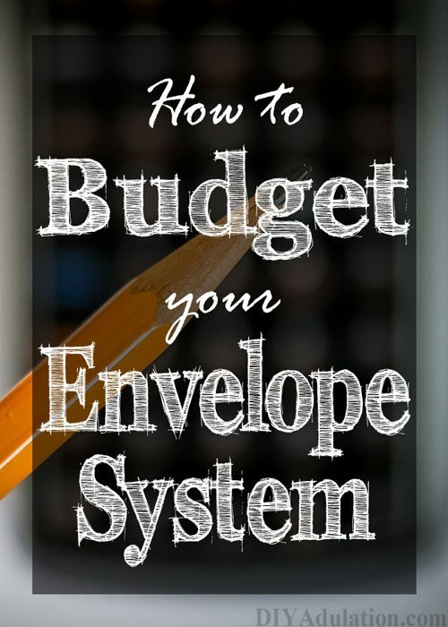 Pencil and Calculator with text overlay - How to Budget Your Envelope System