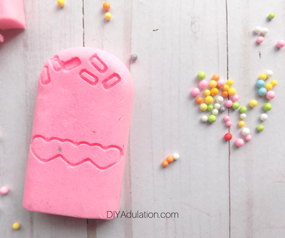 Pink Ice Cream Soap DIY Easter Basket Stuffer for Kids