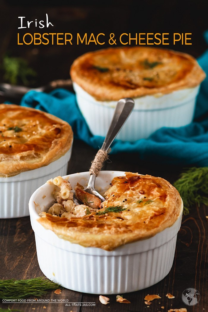Lobster Mac and Cheese pot pies