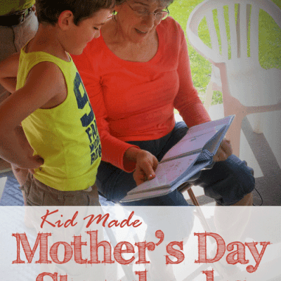 Kid Made Mother's Day Storybooks