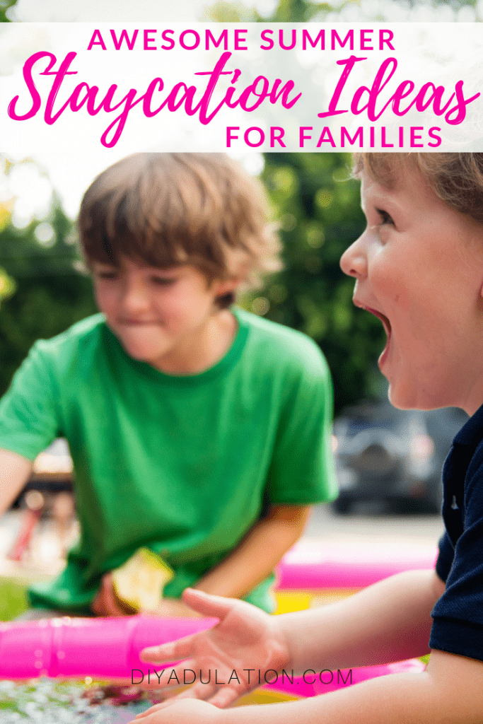 Awesome Summer Staycation Ideas for Families