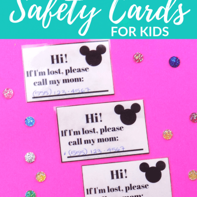 Free Printable Call Mom Safety Cards for Kids