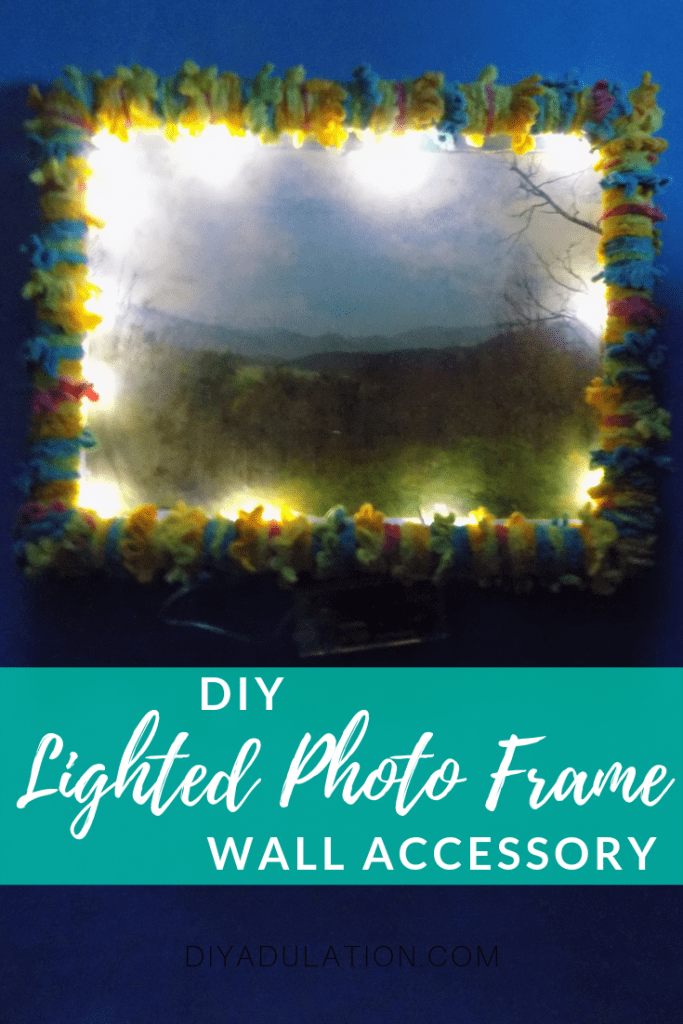 DIY Lighted Photo Frame Home Accessory