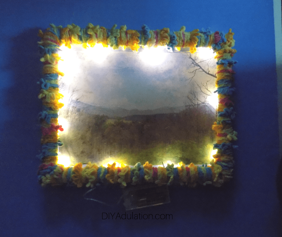 Lighted Photo Frame