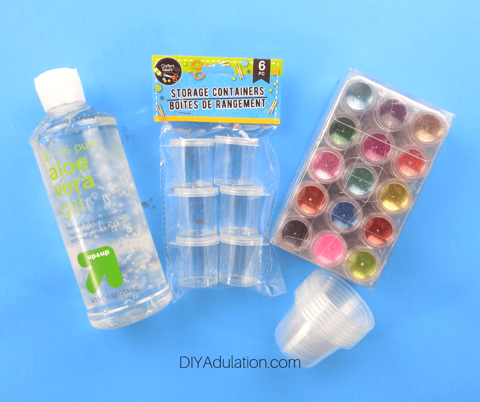 Materials for DIY Body Glitter