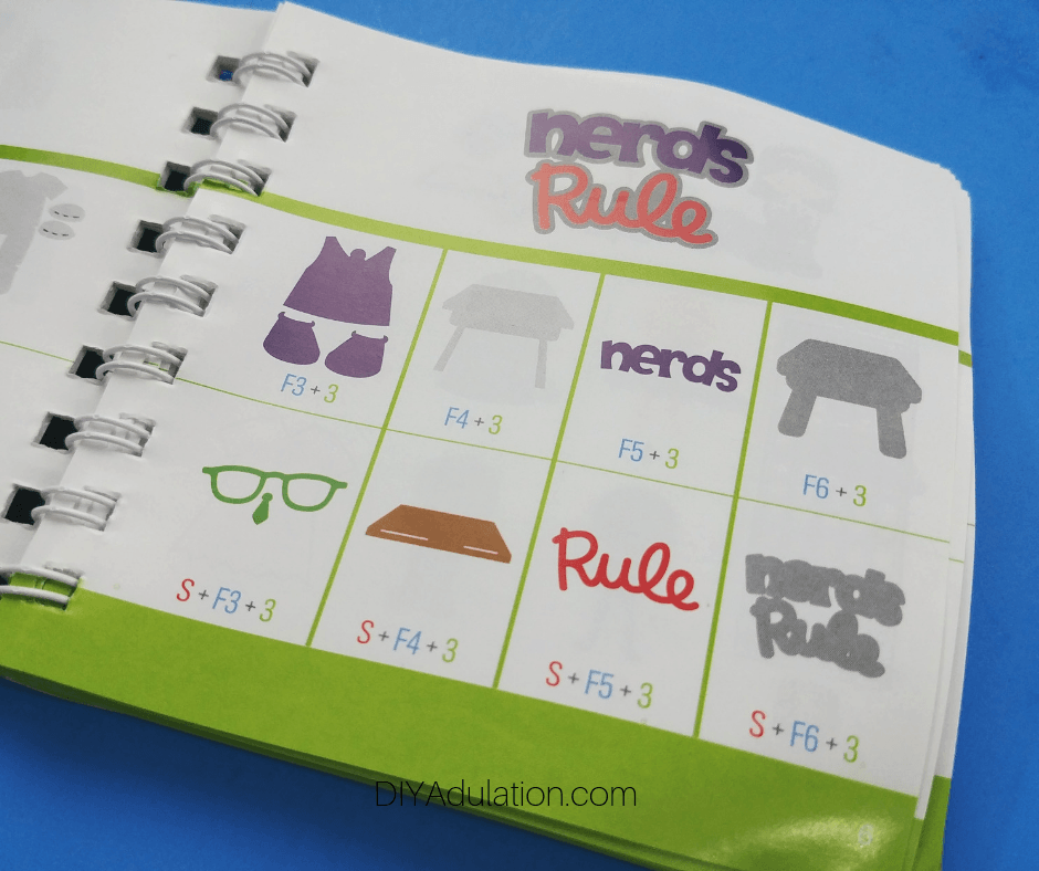 Nerds Rule Design Page in Book