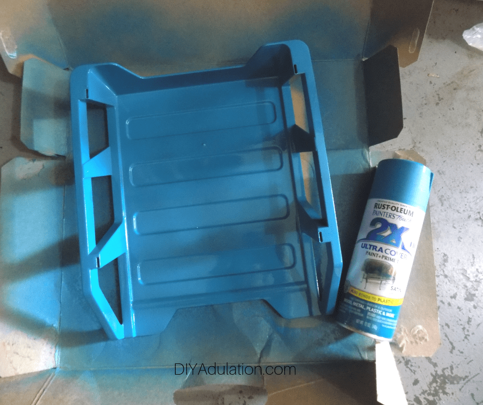 Painted Letter Tray