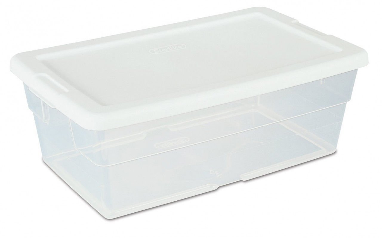 Plastic Lidded Storage Container