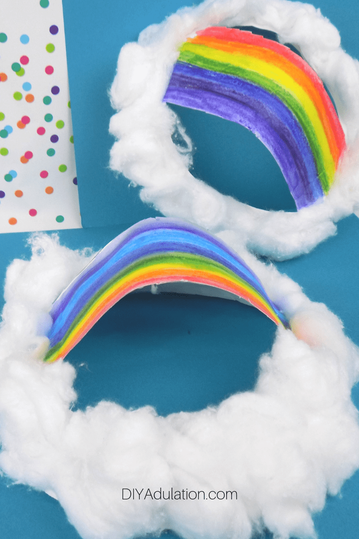 Rainbow Clouds Craft for Kids