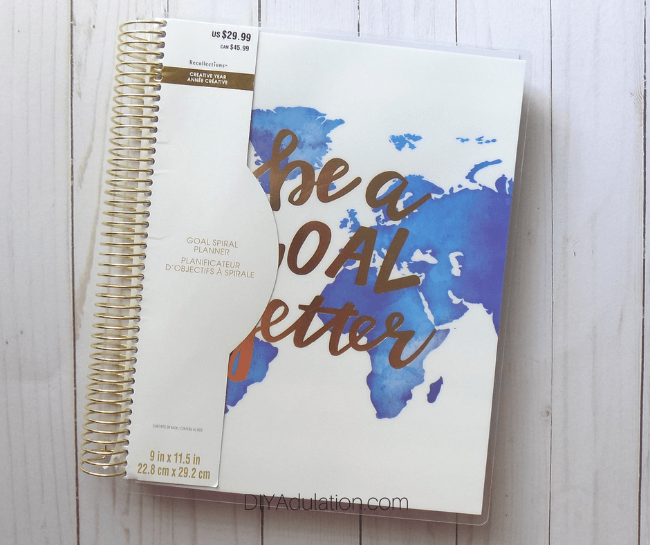 Recollections Goal Getter Planner with Packaging