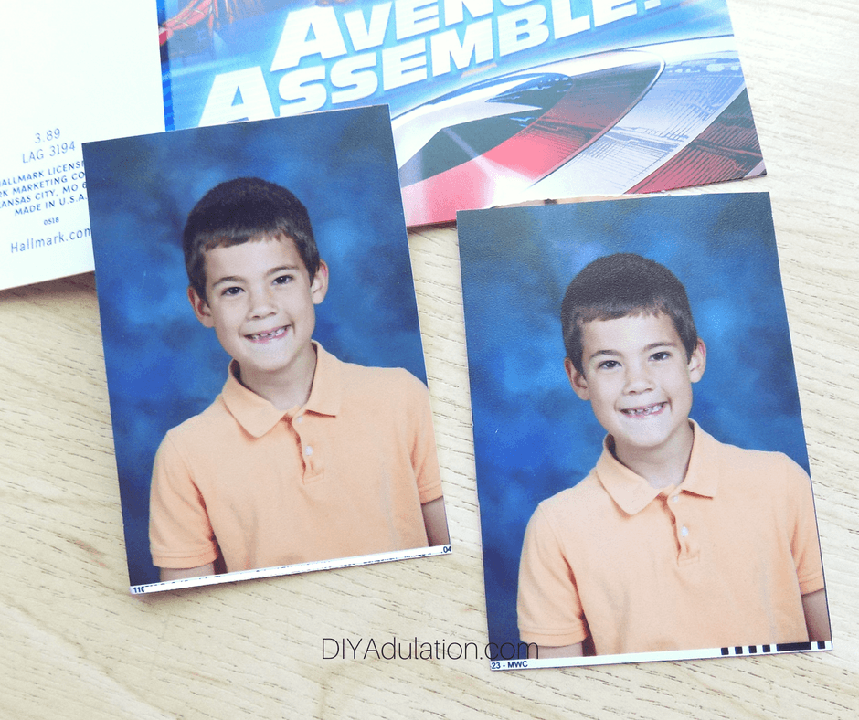 School Pictures of Little Boy