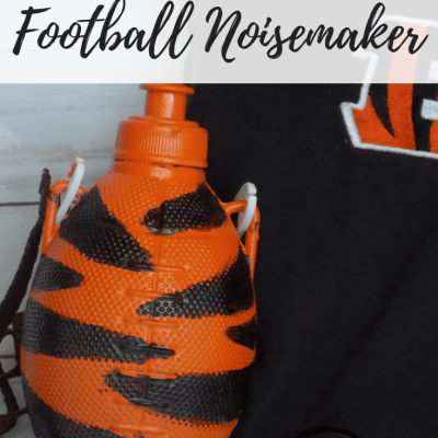 Show Your Team Spirit with a DIY Football Noisemaker