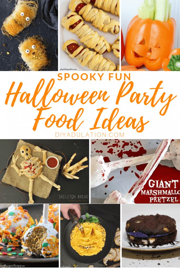 Spooky Fun Halloween Party Food Ideas