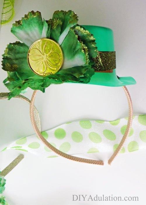 St Patrick's Day Party Hat Headband