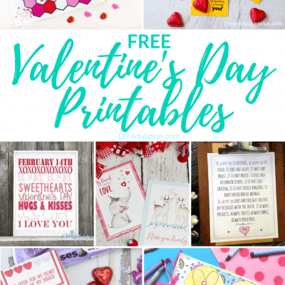 Free Valentine's Day Printables for an Easy Holiday
