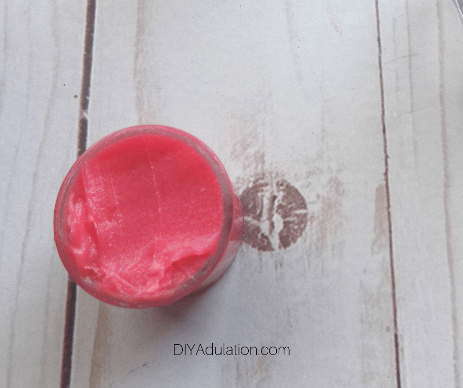 Watermelon Lip Gloss in Small Container
