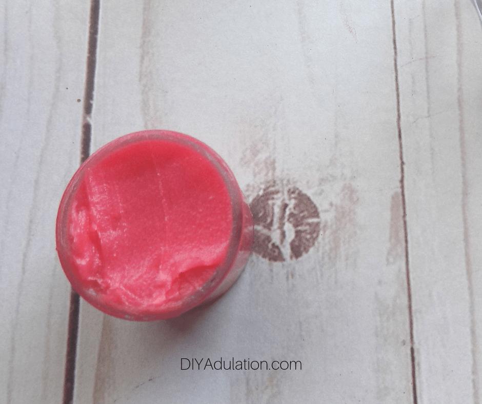 Watermelon Lip Gloss in Small Container