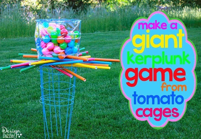 Giant Outdoor Kerplunk Game