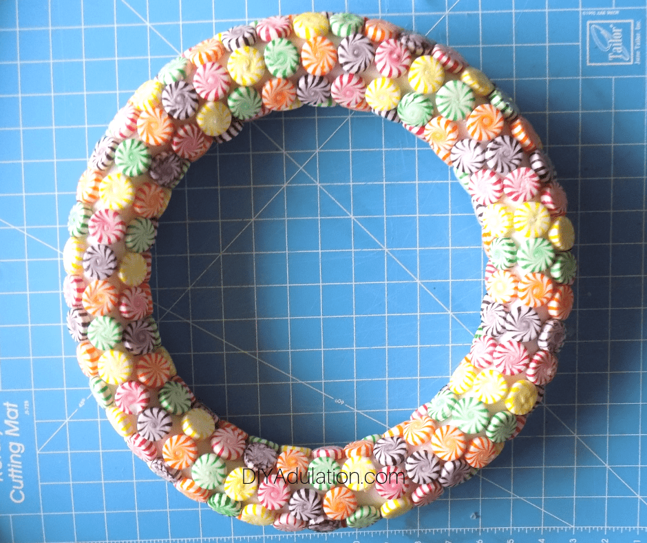 Candy Covered Wreath
