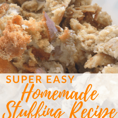 Super Easy Homemade Stuffing Recipe