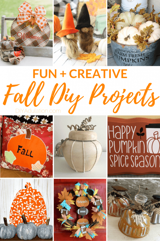 Fun and Creative Fall DIY Projects