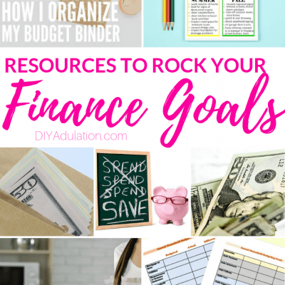 Resources to Rock Your Finance Goals this Year