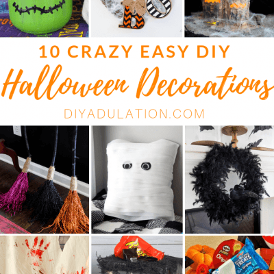 10 Crazy Easy DIY Halloween Decorations