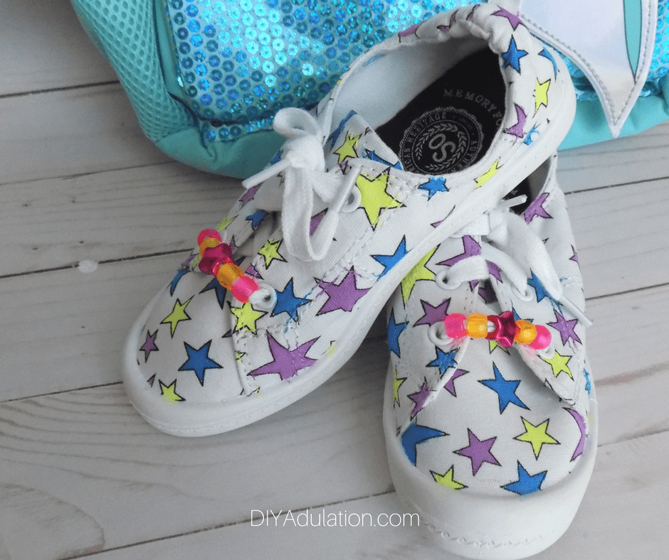 Pair of Colorful Kids Shoes