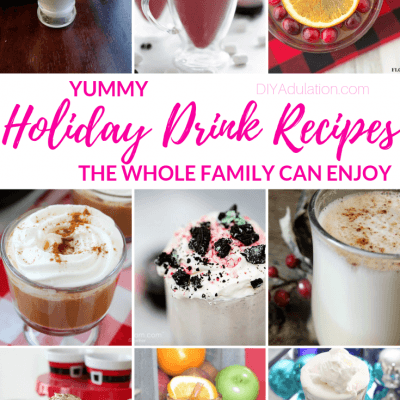 Holiday Drink Recipes the Whole Family Can Enjoy