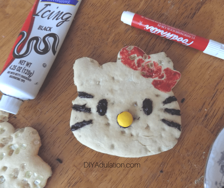 Decorated Hello Kitty Sugar Cookie