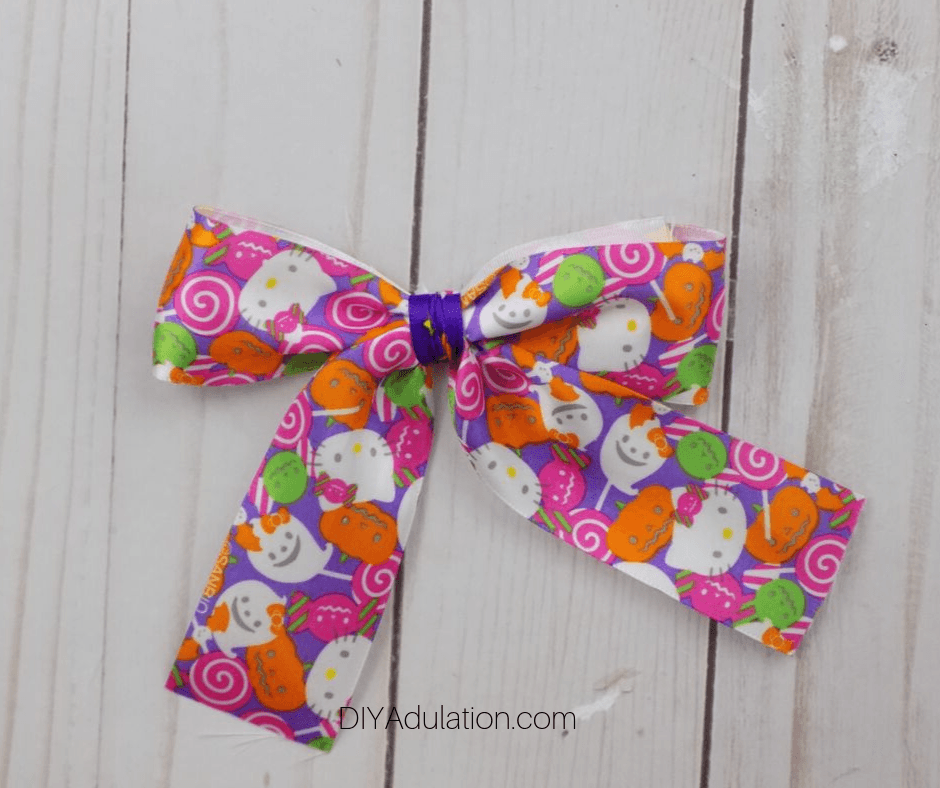 Front of Tied Bow