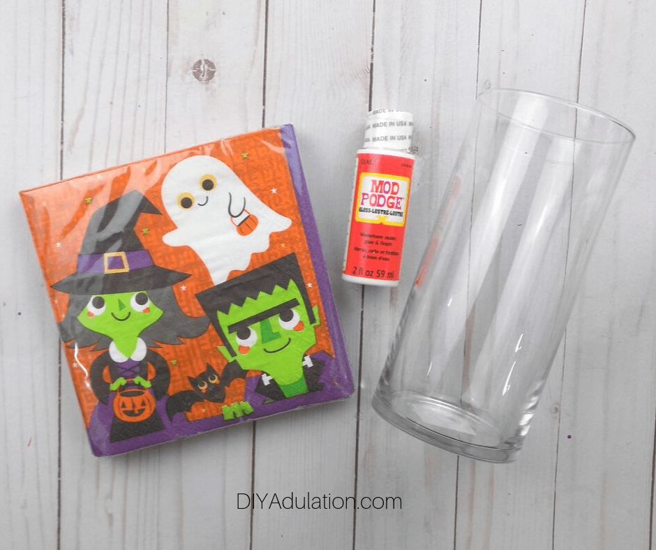 Halloween Jars Materials