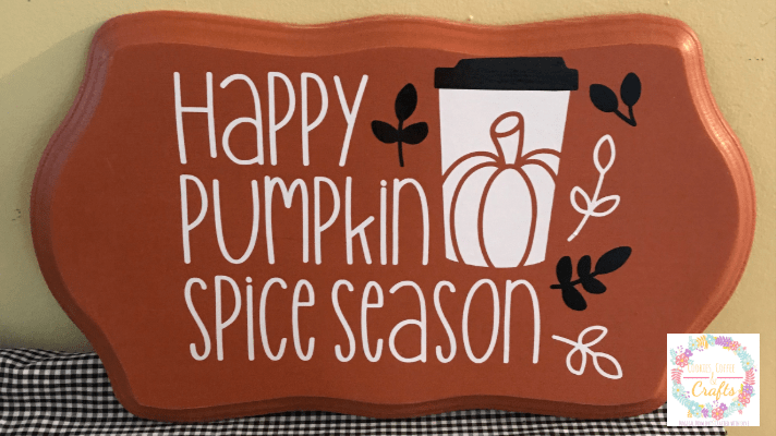 Pumpkin Spice Season Sign
