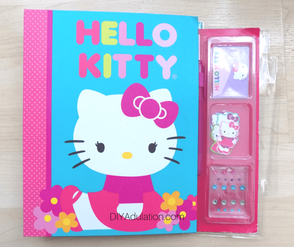 Hello Kitty Book with Embellishments
