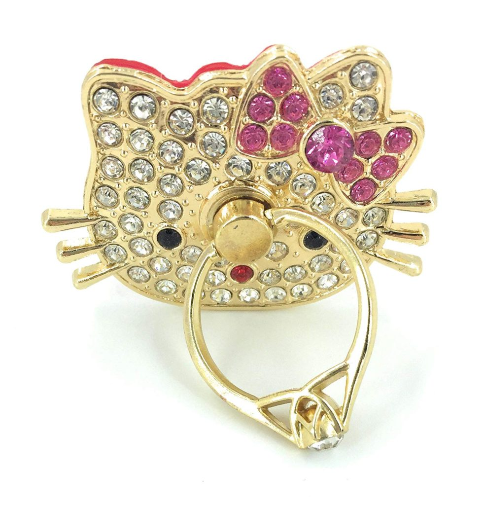 Jeweled Gold Hello Kitty Phone Kick Stand