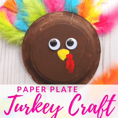 Paper Plate Turkey Craft for Kids