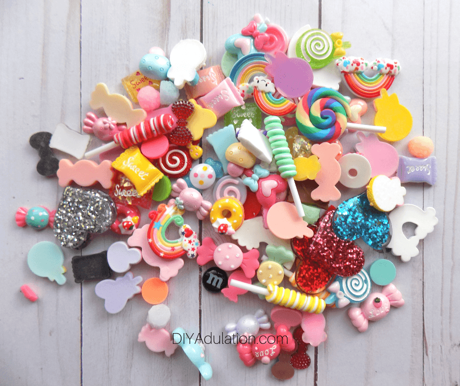Pile of Candy Cabochons