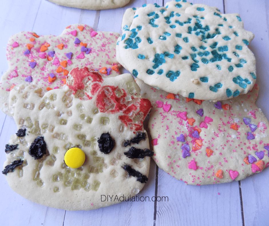 Pile of Hello Kitty Sugar Cookies