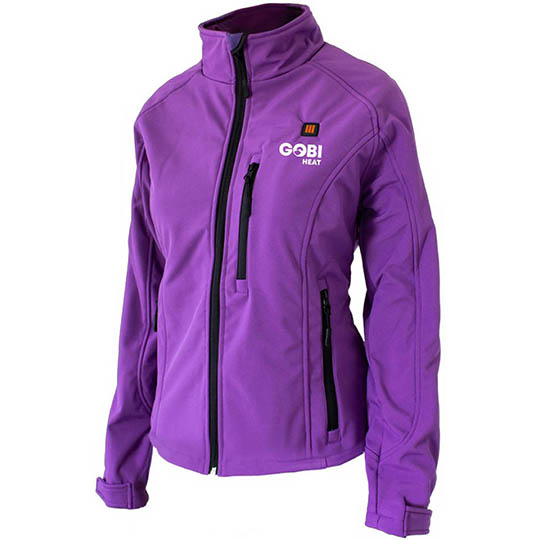 Purple Woman's Heated Jacket