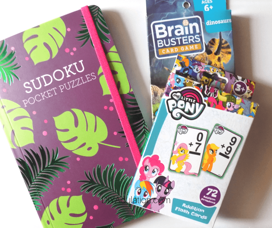 Puzzle Book and Flash Cards