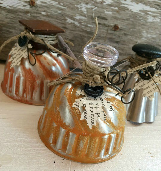Pumpkins from Repurposed items