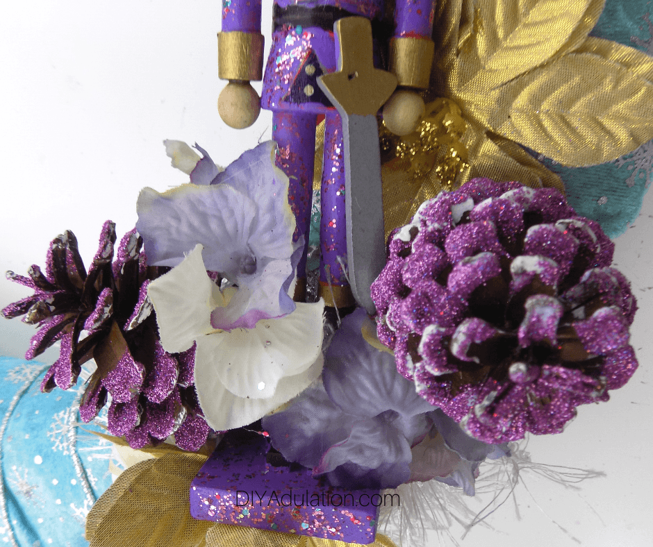 Close Up of Elements on Wreath