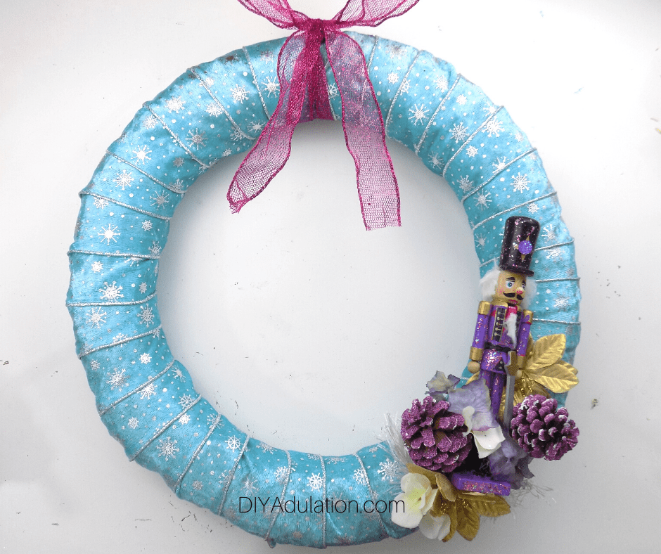 Pastel Nutcracker Wreath