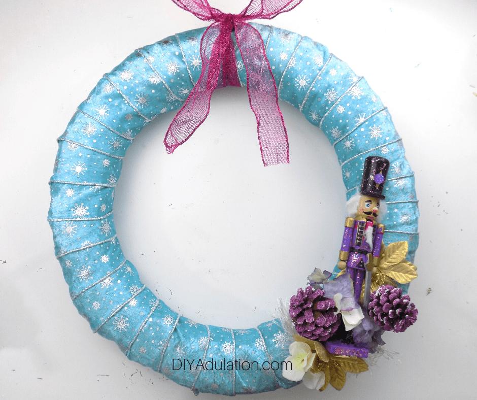 Pastel Nutcracker Wreath